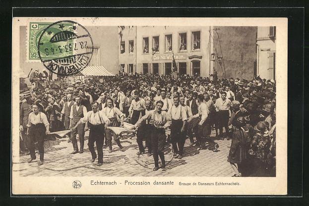 AK Echternach, Procession dansante