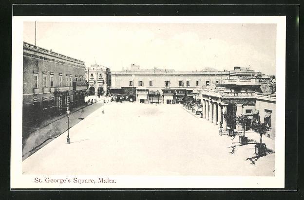 AK Malta, St. George`s Square