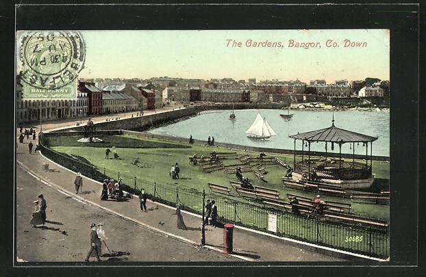 AK Bangor, The gardens