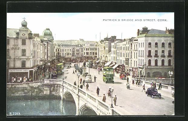 AK Cork, Patrick`s bridge and street