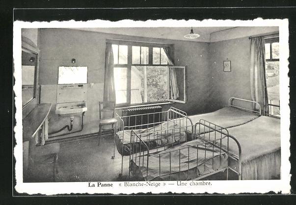 AK La Panne, Blanche Neige - Line chambre
