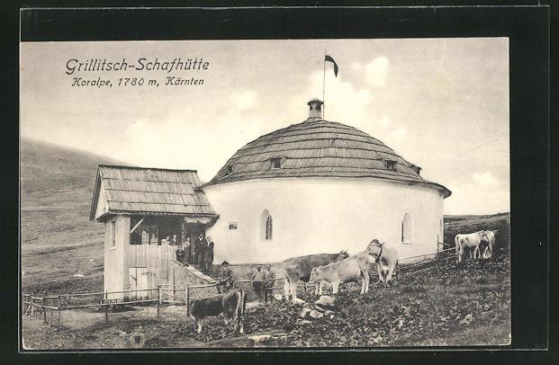 AK Koralpe, Grillitsch-Schafhütte