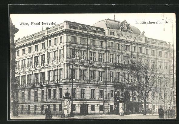 AK Wien, Hotel Imperial, Kärntnerring 16