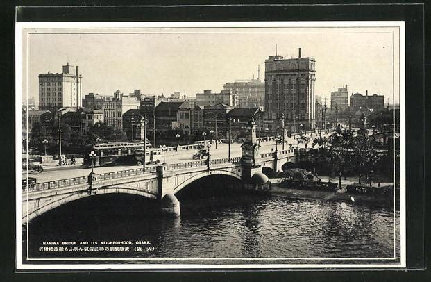 AK Osaka, Naniwa Bridge and its Neighborhood