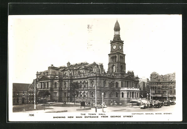 AK Sydney, The Town Hall