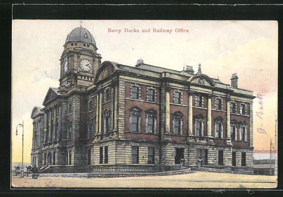 AK Barry, Docks and Railway Office