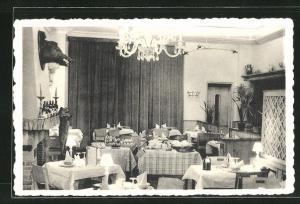 AK Namur, Hotel de la Couronne, Place de la Gare, Son Restaurant