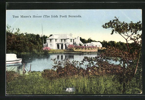 AK Bermuda, Tom Moore`s House (The Irish Poet)