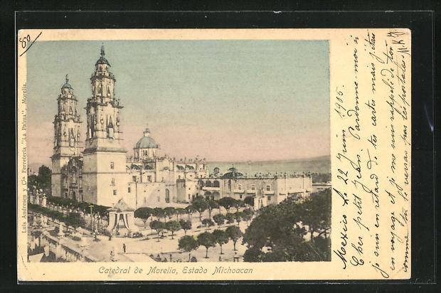 AK Morelia, Catedral, Estado Michoacan