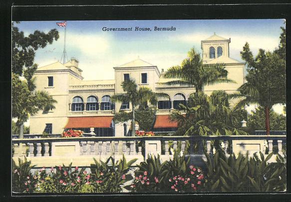 AK Hamilton, Government House