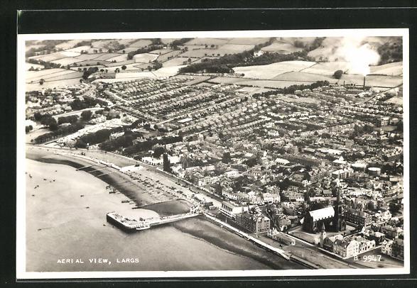 AK Largs, Aerial View