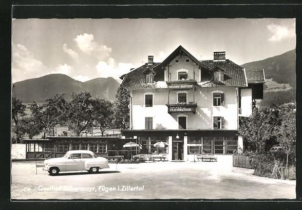 AK Fügen i. Zillertal, Gasthof Silbermayr