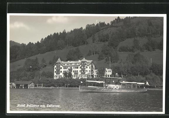 AK Zell am See, Hotel Bellevue am Zellersee