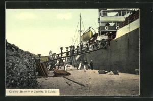 AK Castries, Coaling Steamer