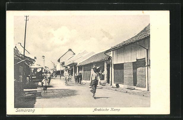 AK Semarang, Arabische Kamp