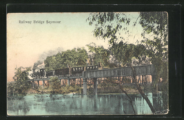 AK Seymour, Railway Bridge