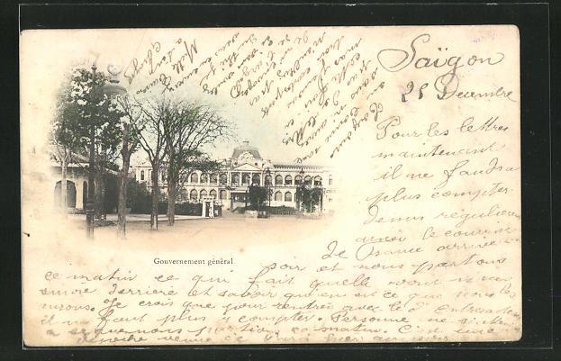 AK Saigon, Gouvernement general