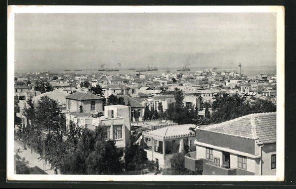 AK Tel-Aviv, Panoramablick aus der Vogelschau