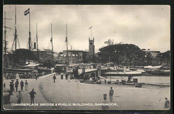AK Barbados, Chamberlain Bridge & Public Buildings