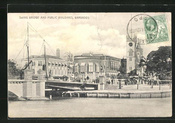 AK Barbados, Swing Bridge and Public Buildings
