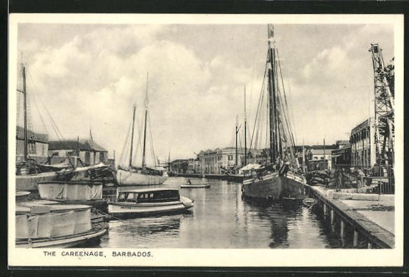 AK Barbados, the Careenage, Fischerboote im Haven