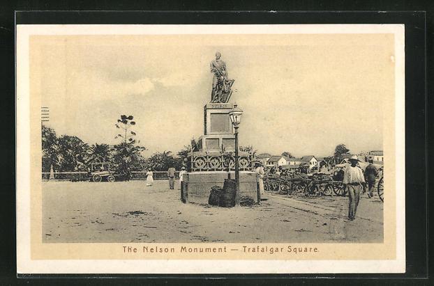 AK Bridgetown, the Nelson Monument