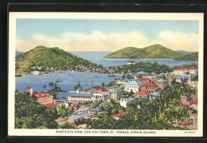 AK St. Thomas, Bird's Eye view, Cha Cha Town