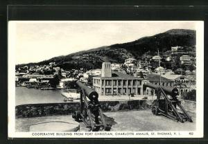 AK Charlotte Amalie, Cooperative Building from Fort Christian