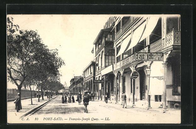 AK Port-Said, Francois-Joseph Quay