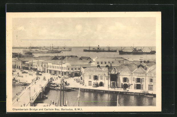 AK Barbados, Chamberlain Bridge and Carlisle Bay