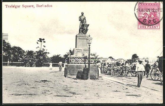 AK Barbados, Trafalgar Square