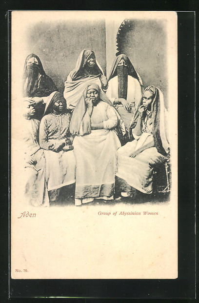 AK Aden, Group of Abyssinian Women