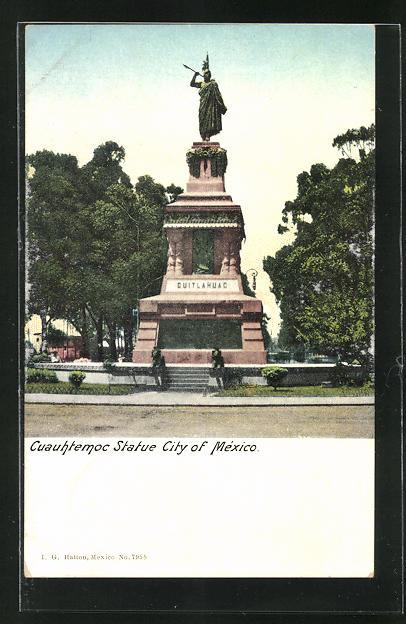 AK Mexico City, Cuauhtemoc Statue