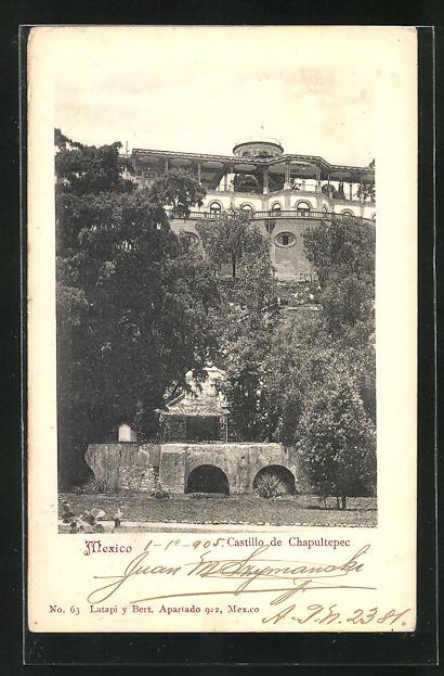 AK Mexico City, Castillo de Chapultepec
