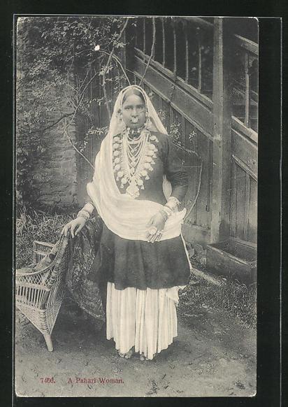 AK Nepal, a Pahari Woman