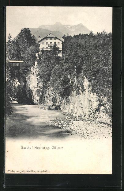 AK Finkenberg, Gasthof Hochsteg