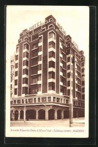 AK Madrid, Hotel Nueva York, Avenida Eduardo Dalo