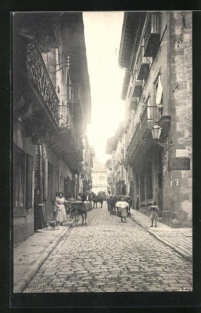 AK Hernani, Calle Mayor, Hauptstrasse