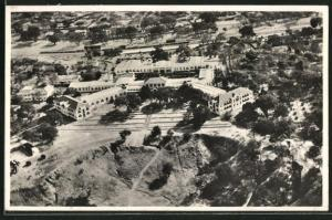 AK Simbabwe, An Aerial view of the Victoria Falls Hotel
