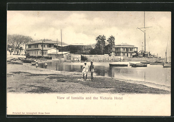 AK Ismailia, View and the Victoria Hotel