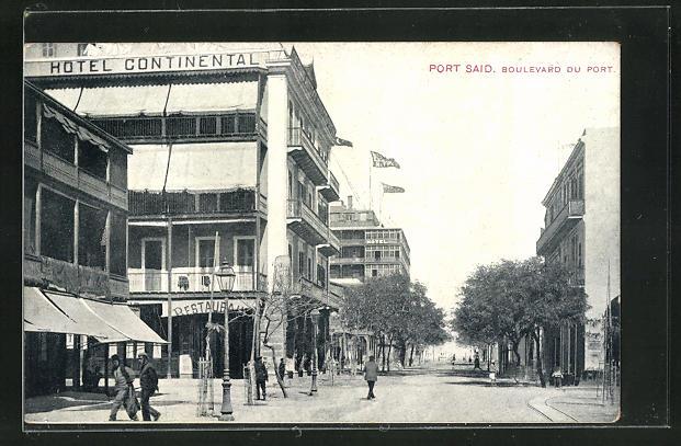 AK Port Said, Boulevard du Port