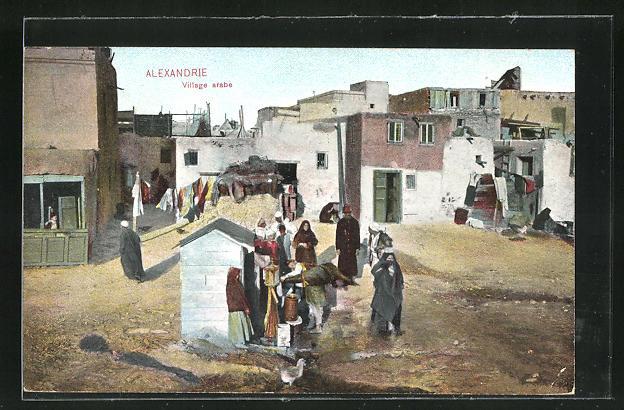 AK Alexandrie, Village arabe