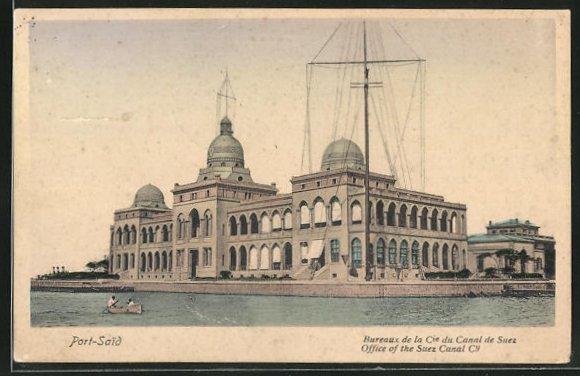 AK Port-Said, Bureaux de la Cie du Canal de Suez