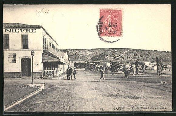 AK Arzew, Le Boulevard des Palmiers