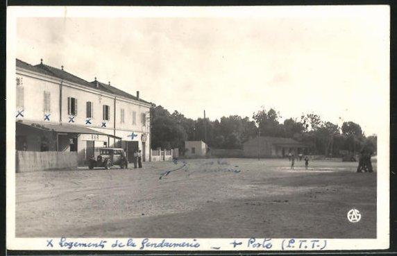 AK Port-Say, Grand Rue, Strassenpartie