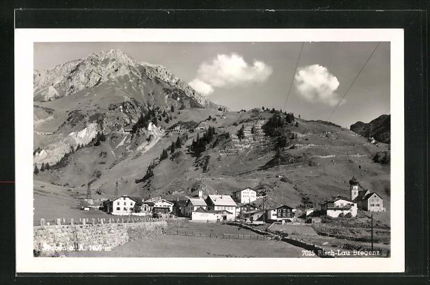 AK Stuben a. Arlberg, Ortsansicht