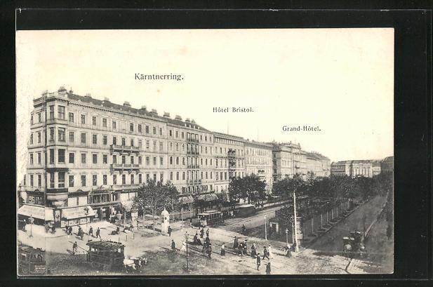 AK Wien, Kärntnerring, Hotel Bristol, Grand-Hotel