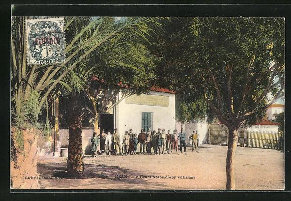 AK Oran, Le Cours Arabe d`Apprentissage