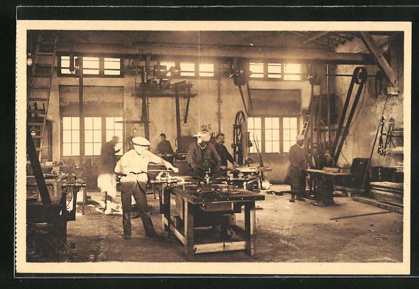 AK Biskra, Ferme Dufourg, L`Atelier 1928
