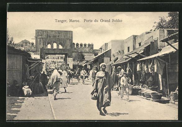 AK Tanger, Porte du Grand Sokko